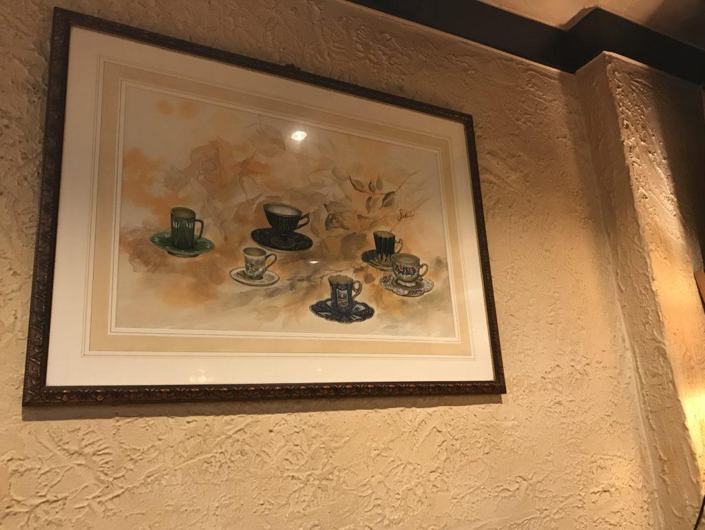 珈琲館 紅鹿舎 絵画