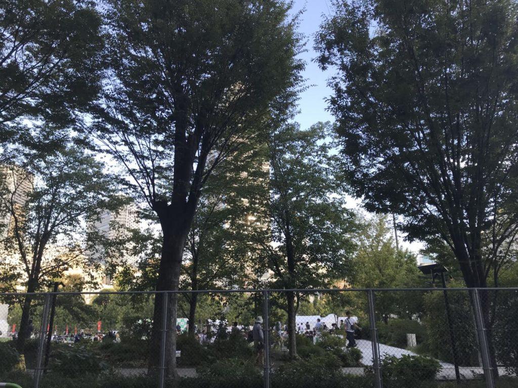 ブルーボトルコーヒー 南池袋公園