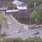 桜田門前 -天皇皇后パレード2019-