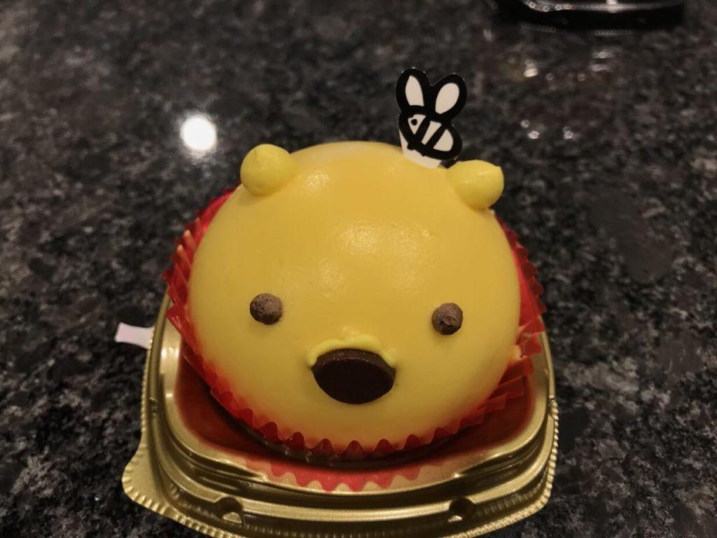 セブンイレブン プーさんのケーキ