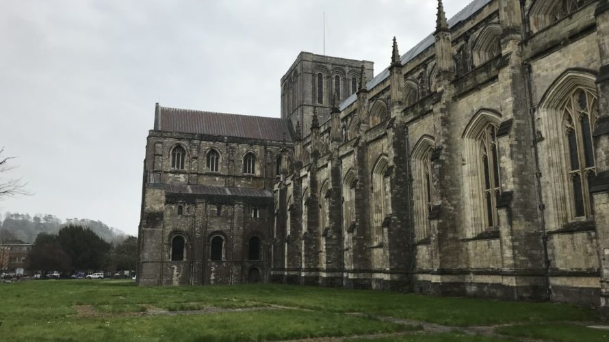 ウィンチェスター大聖堂 外壁