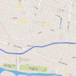 昭島市 聖火リレーのルート