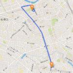 板橋区 聖火リレーのルート