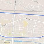 稲城市 聖火リレーのルート