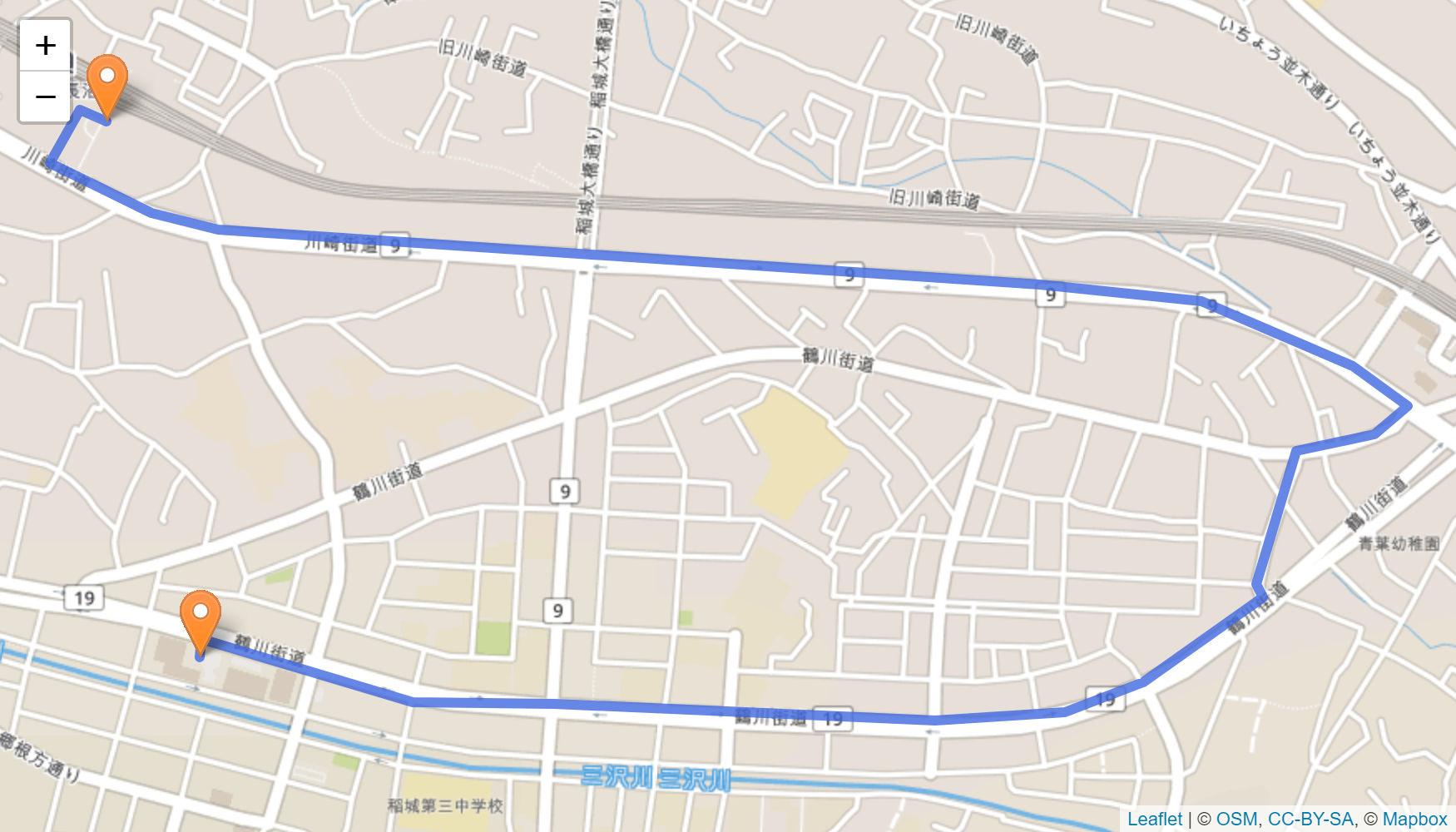 稲城 聖火リレーの情報