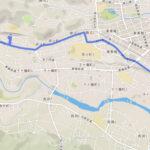 青梅市 聖火リレーのルート