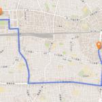 中野区 聖火リレーのルート
