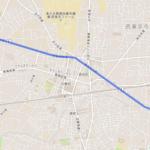 西東京市 聖火リレーのルート