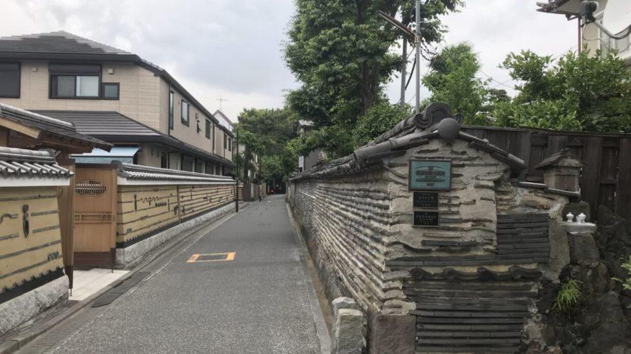 谷中 築地塀