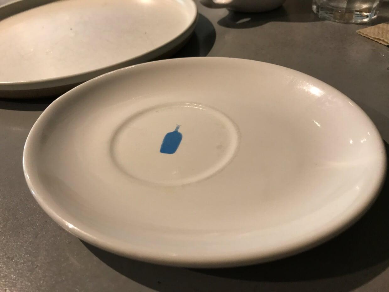 ブルーボトルコーヒーのお皿