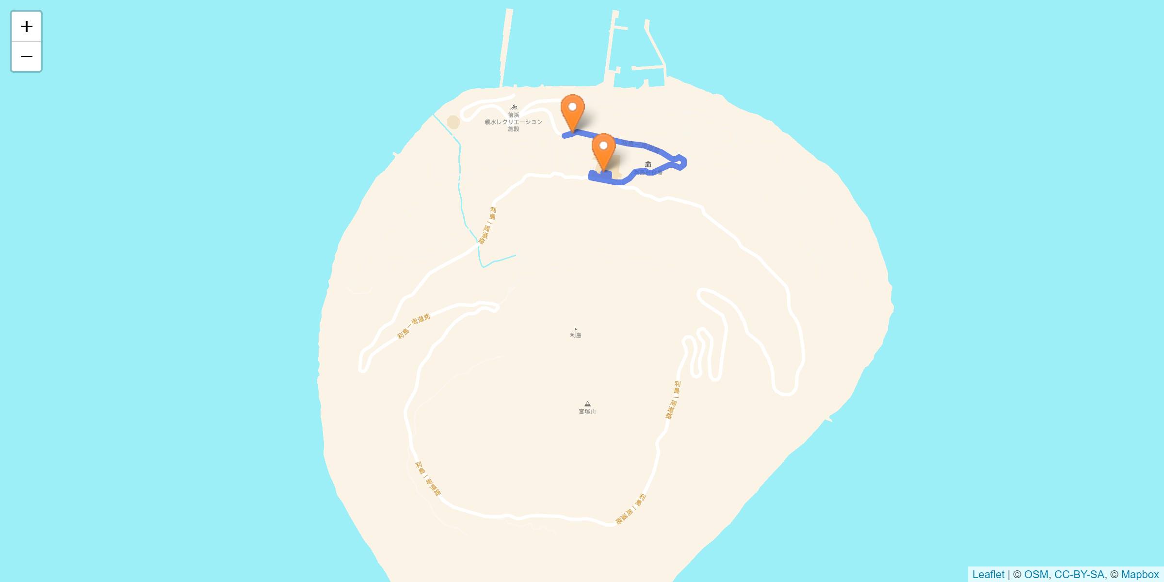 利島 聖火リレーの詳細